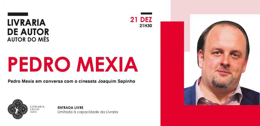 Pedro Mexia vai à Livraria Lello conversar com o cineasta Joaquim Sapinho
