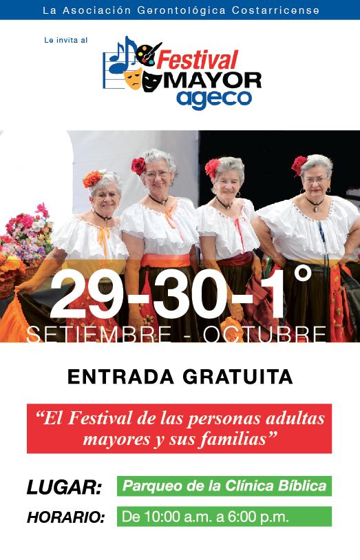 Festival Mayor AGECO 2018. Musicoterapia, talleres y bingo