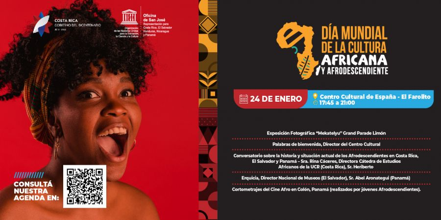 Día mundial de la cultura africana y de los afrodescendientes. Expo y foro