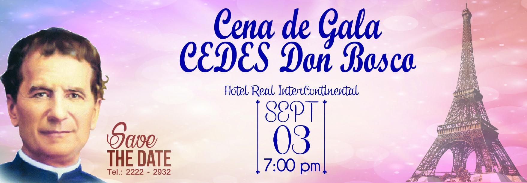 Cena de Gala 2016. CEDES Don Bosco