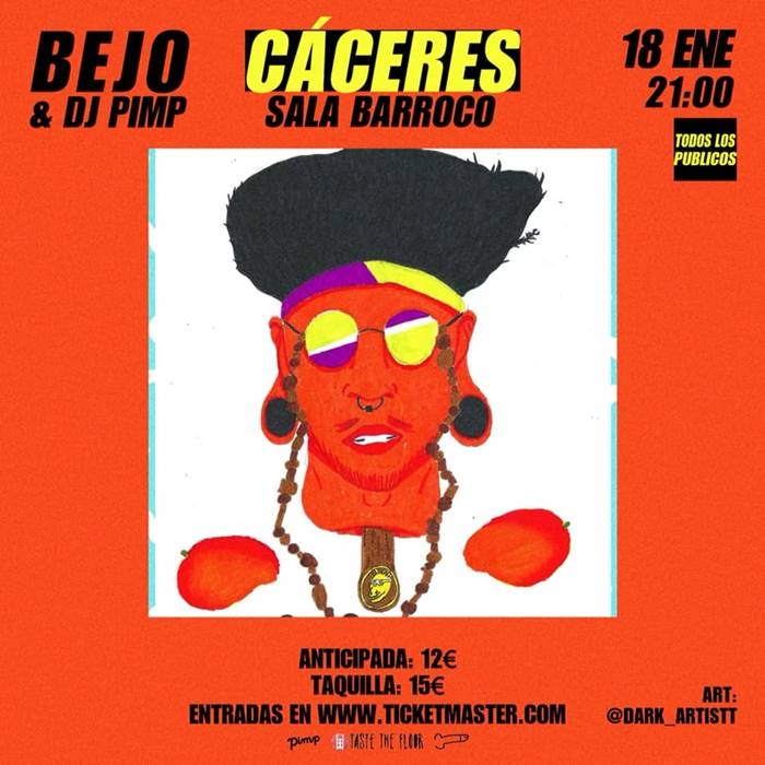 Bejo & Dj Pimp | Sala Barroco
