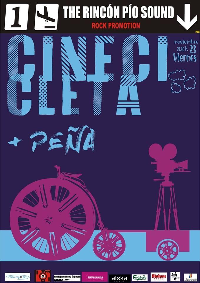Cinecicleta + Peña