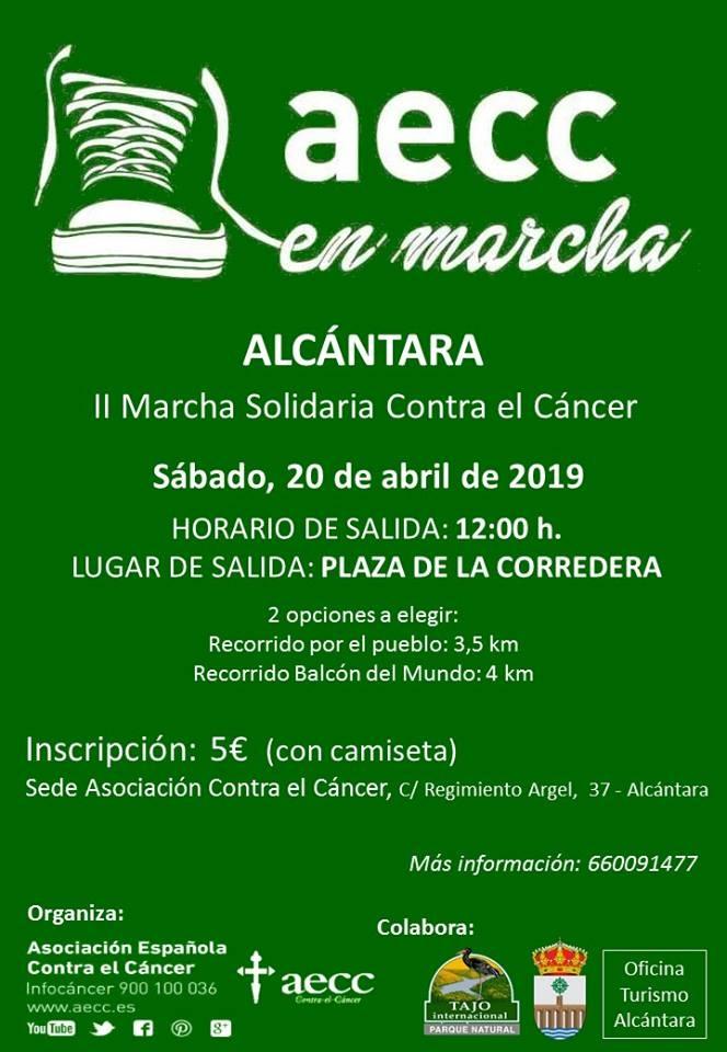 II Marcha Solidaria Contra el Cáncer