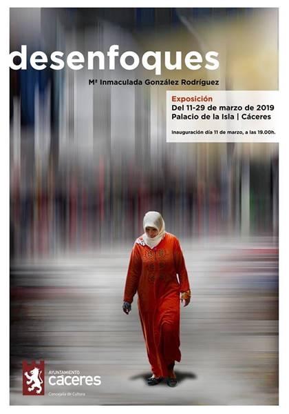 Exposición: Desenfoques, de Mª Inmaculada González // Palacio de la Isla