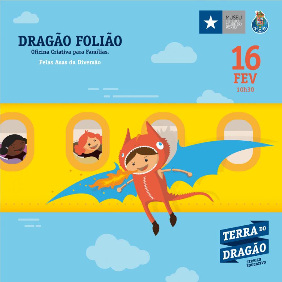 Dragão Folião - Oficina Criativa para Famílias