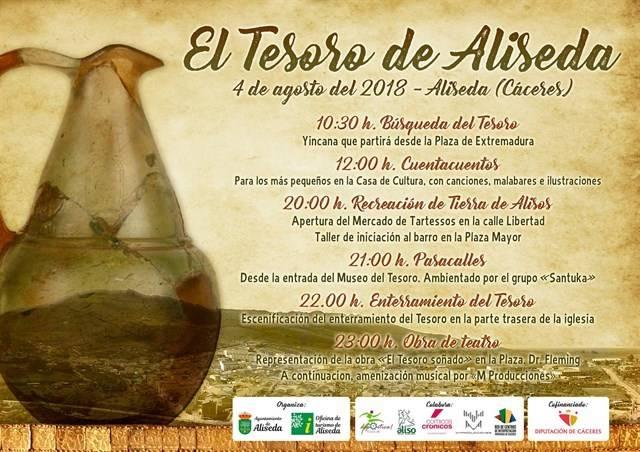 VI edición de 'El Tesoro de Aliseda - La Leyenda'