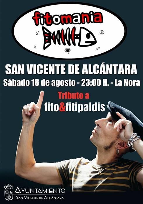 Concierto tributo Fito & Fitipaldis || San Vicente de Alcántara