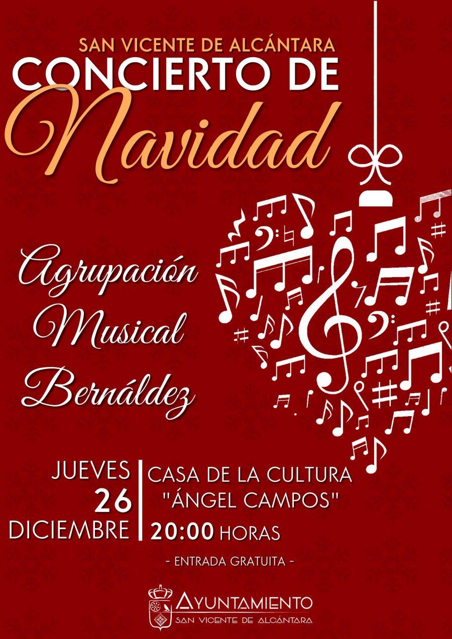 CONCIERTO DE NAVIDAD - AGRUPACIÓN MUSICAL BERNÁLDEZ
