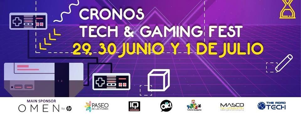 Cronos Tech & Gaming Fest