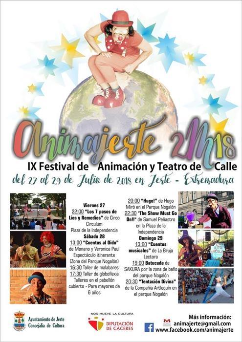 ANIMAJERTE 2018 || IX Festival de Animación y Teatro de Calle