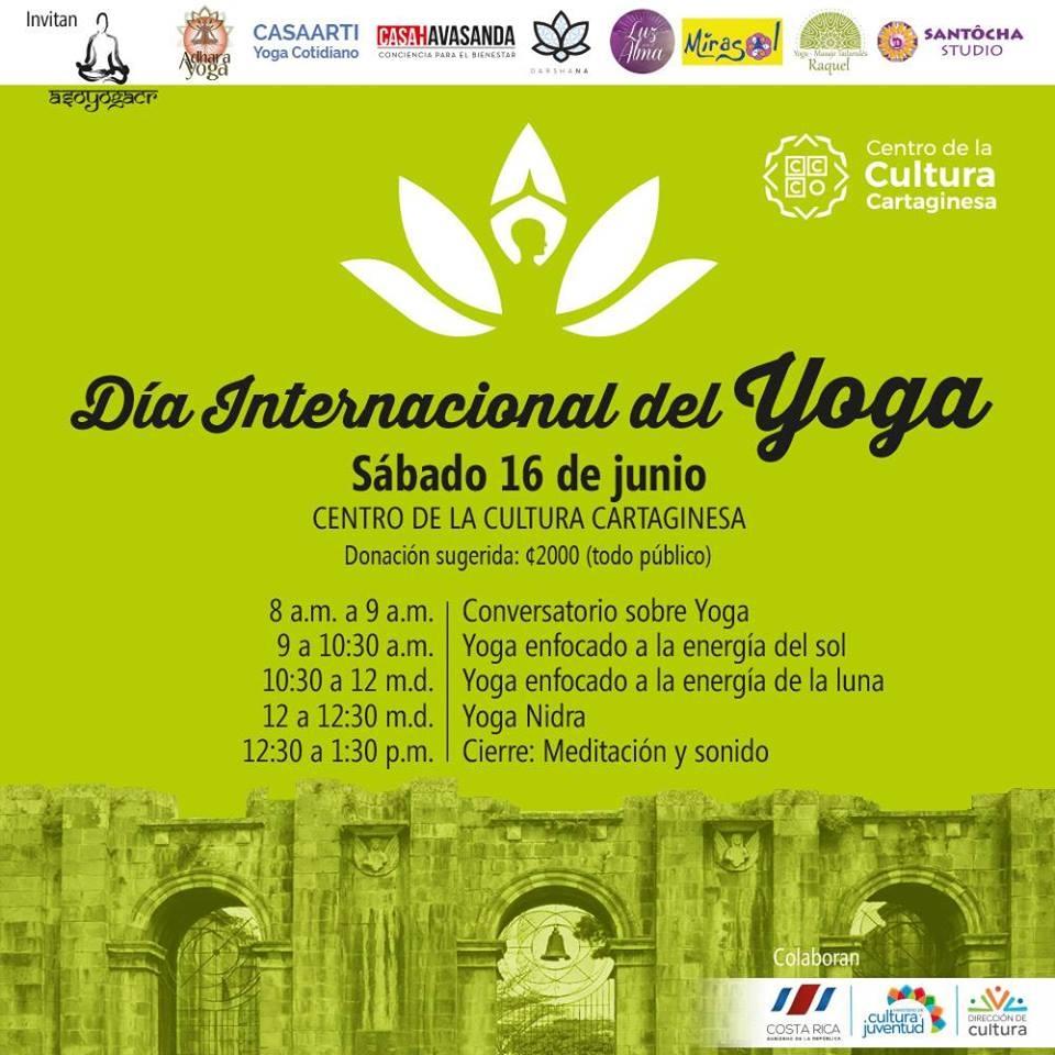 Día Internacional del Yoga en Cartago