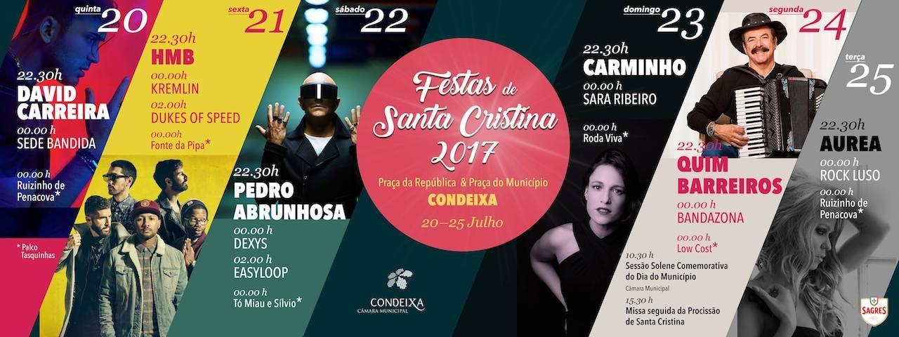 Festas de Santa Cristina 2017
