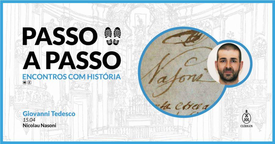Passo a Passo, Encontros com História - Ep.4 - Giovanni Tedesco