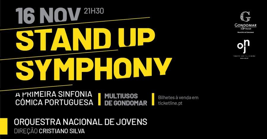 Stand Up Simphony Fernando Rocha, Francisco Menezes e Rui Xarã