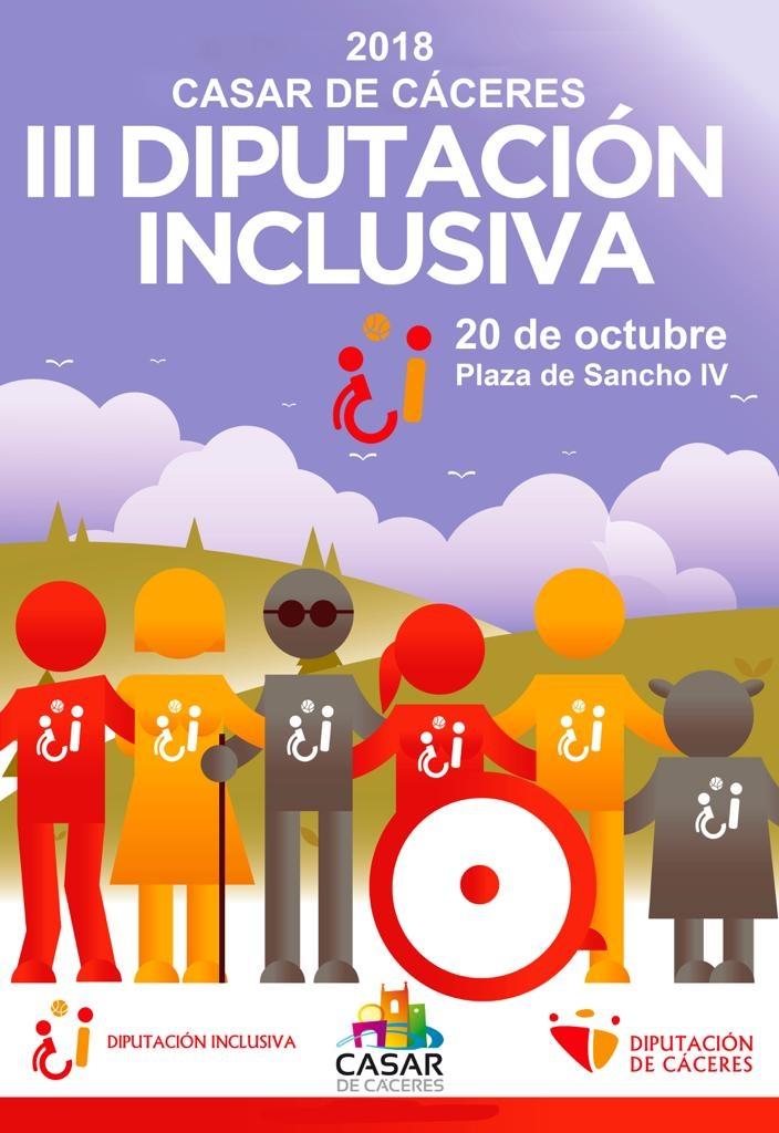 III edición de Diputación Inclusiva | Casar de Cáceres