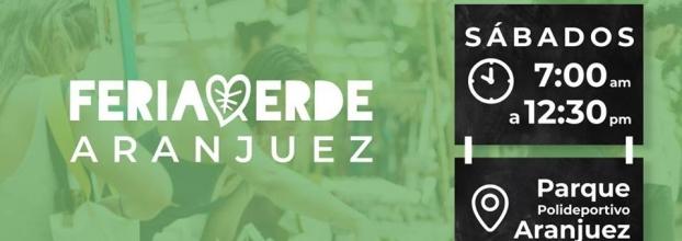 Feria verde. Aranjuez. Artesanías, gastronomía y música