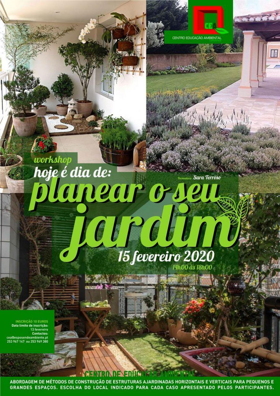 Workshop 'Hoje é dia de: Planear o seu jardim'