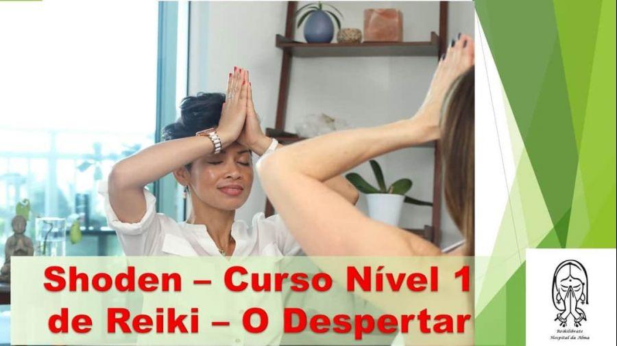 Curso de reiki nível 1