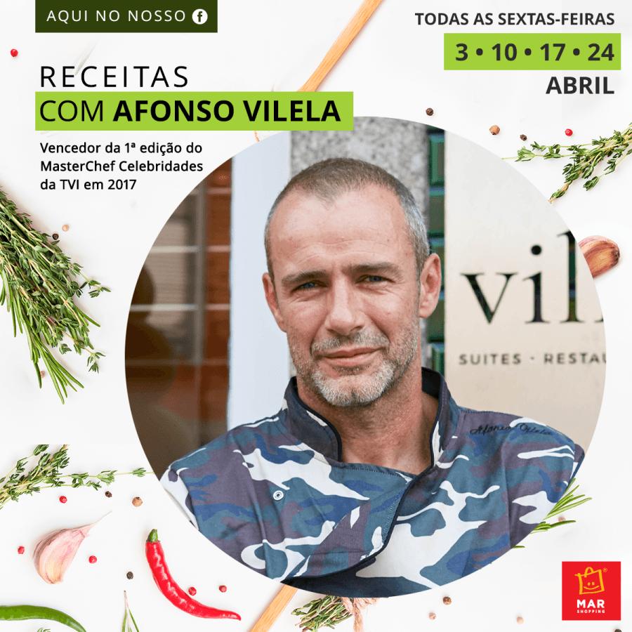 Receitas 'a la' Afonso Vilela - Eis o MAR Shopping Matosinhos online!
