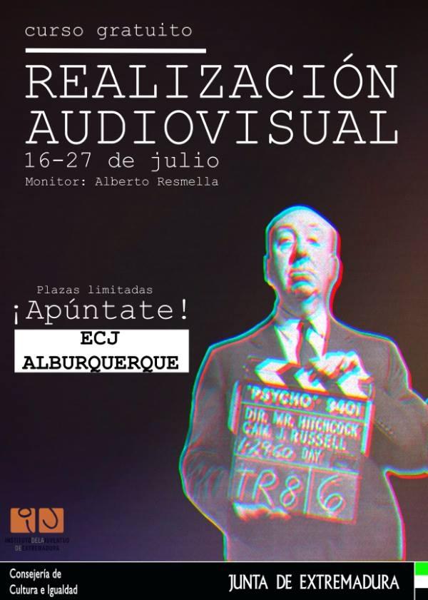 Curso gratuito de realización audiovisual || Alburquerque