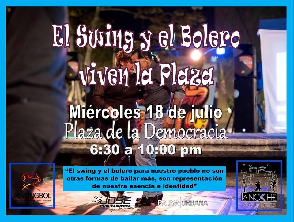 El Swing y el Bolero viven la Plaza
