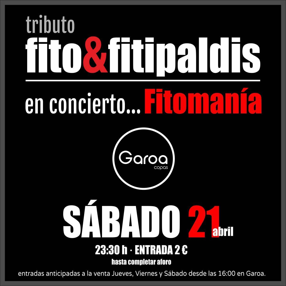 Fitomanía - Tributo Fito y Fitipaldis