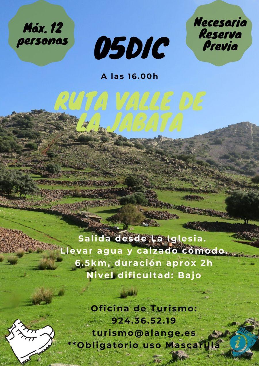 Ruta al Valle de la Jabata