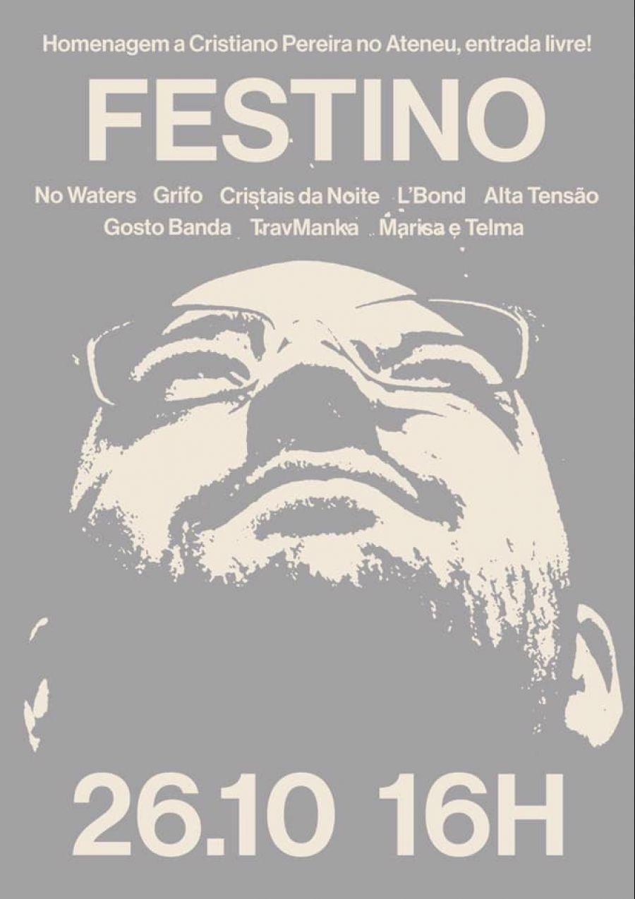 Festino | Homenagem a Cristiano Pereira