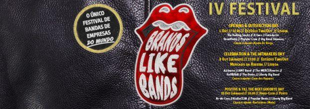 Festival Brands Like Bands - O único Festival de Bandas de Empresas do Mundo