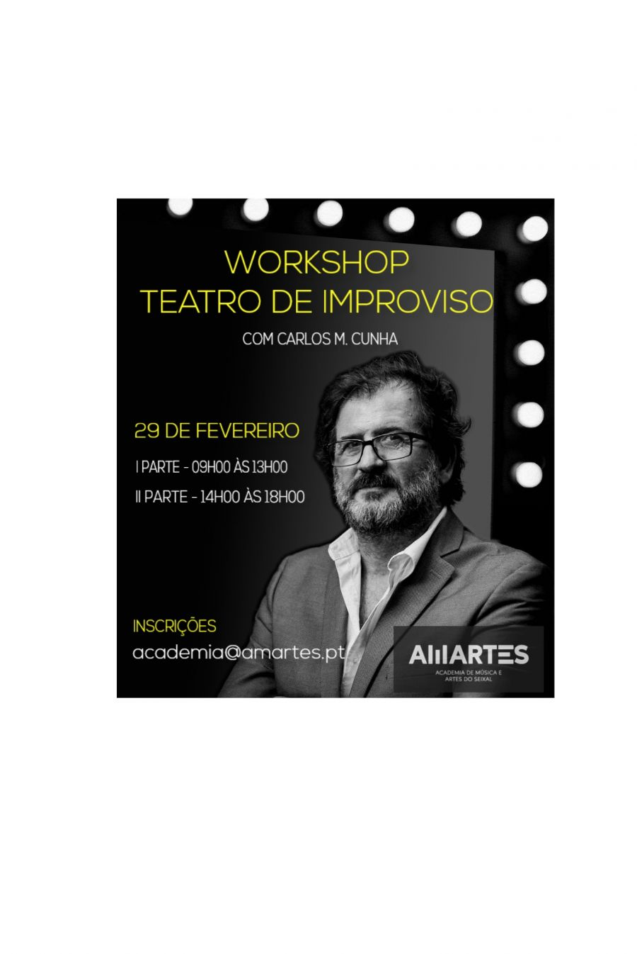 Workshop Teatro de Improviso