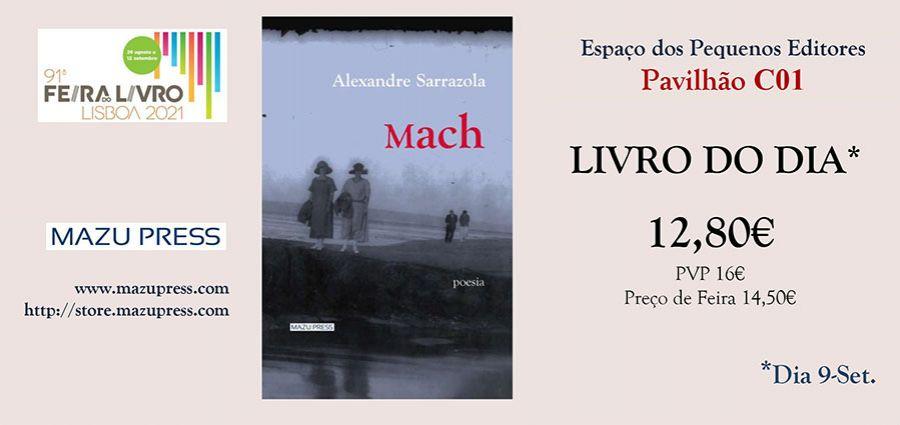 LIVRO DO DIA ed. Mazu Press | Feira do Livro de LISBOA | Espaço dos Pequenos Editores (Pav. C01)