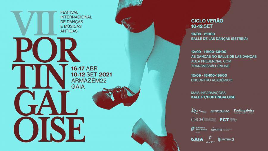 Aula sobre as danças do espectáculo 'Balle de Las Danças' / Portingaloise - Festival Internacional de Danças e Músicas Antigas