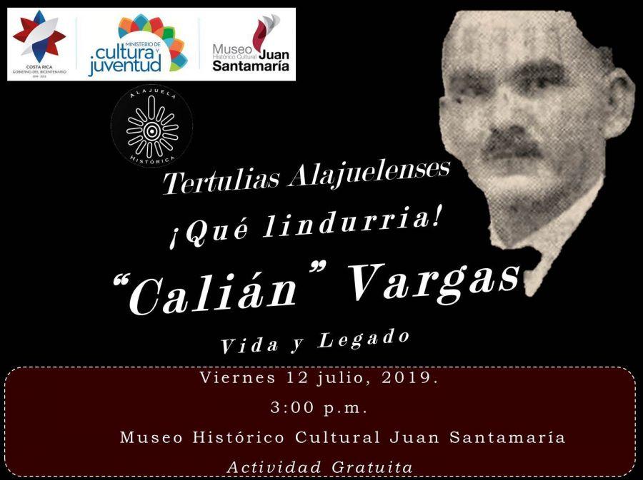 Tertulia. Calián Vargas. Vida y legado