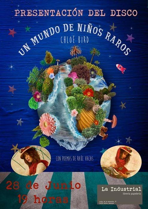 Presentación del disco «Un mundo de niños raros»
