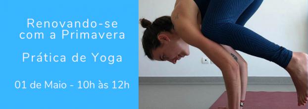 Prática de Yoga - Renovando-se com a Primavera