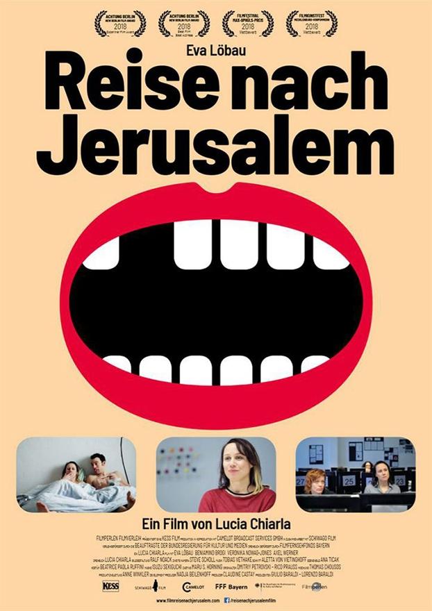 Festival de cine europeo 2019. Reise nach Jerusalem. Alemania
