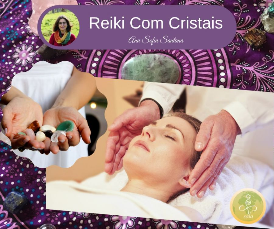 Workshop Reiki com Cristais