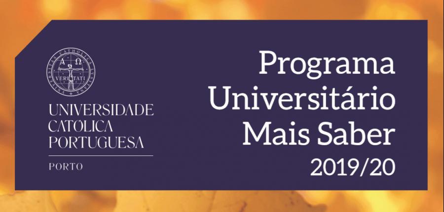 Sessão de Abertura do Programa Universitário Mais Saber 2019/20