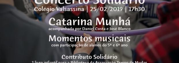 Concerto Solidário com Catarina Munhá