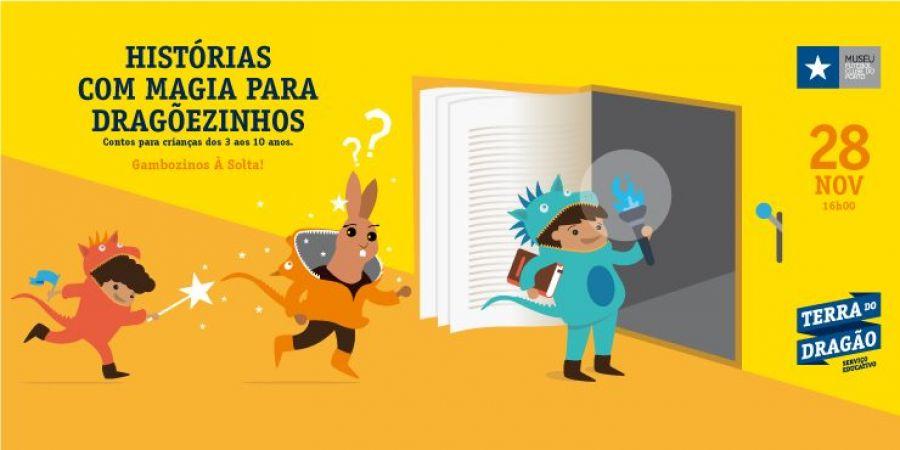 """Histórias com Magia para Dragõezinhos – """"Gambozinos À Solta!"""""""