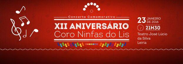 Concerto Comemorativo do XII Aniversário do Coro Ninfas do Lis