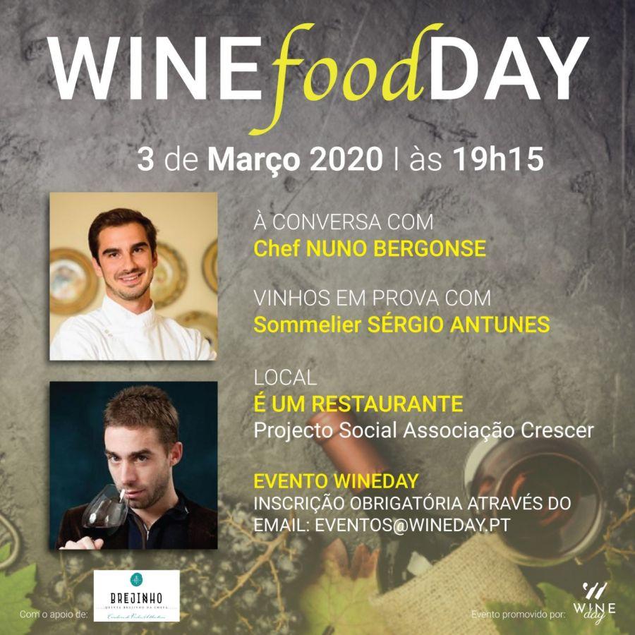 WINEfoodDAY - um evento, duas paixões... e uma causa social!