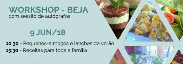Workshop Beja - Receitas saudáveis para toda a família