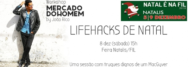Workshop Lifehacks de Natal