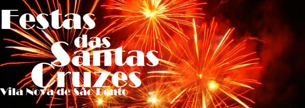 Fogo de artificio/ Festas das Santas Cruzes