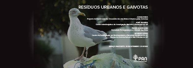 Debate | Resíduos Urbanos e Gaivotas