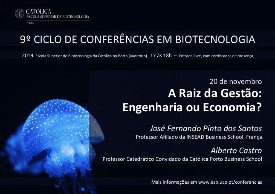 Ciclo de Conferências em Biotecnologia