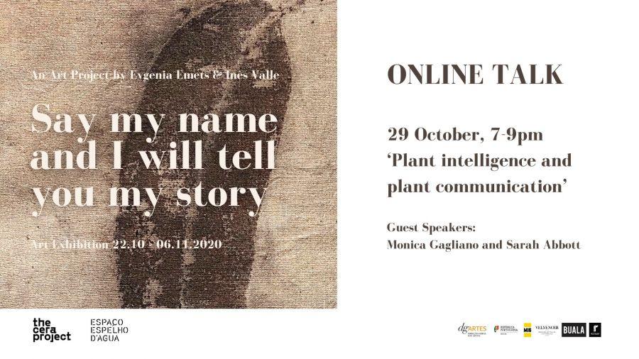 Talk: Plant intelligence and plant communication