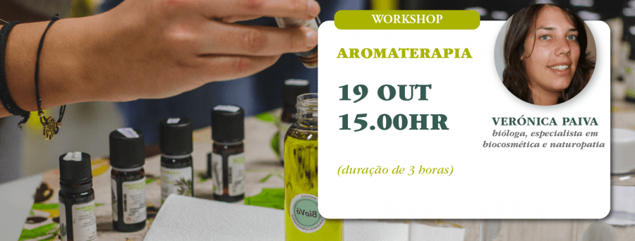 Workshop Aromaterapia