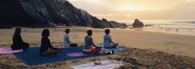 Circuito da Amoreira + Yoga na praia